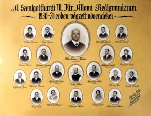 1931 - érettségi tabló