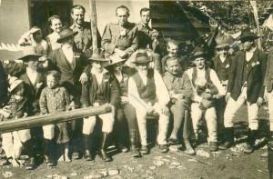 1940 - katonaként Zetelakán (Erdély)