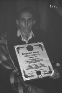 1995 - díszpolgár