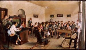 Demjén Attila 1946. VII. 10.: Osztálykép
